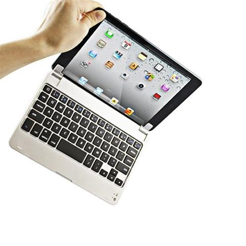 E-THINKER Slim Portable Wireless Bluetooth Keyboard Case Cover