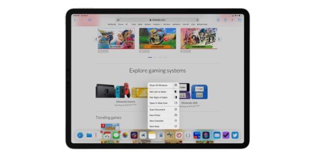multitasking concept ipad