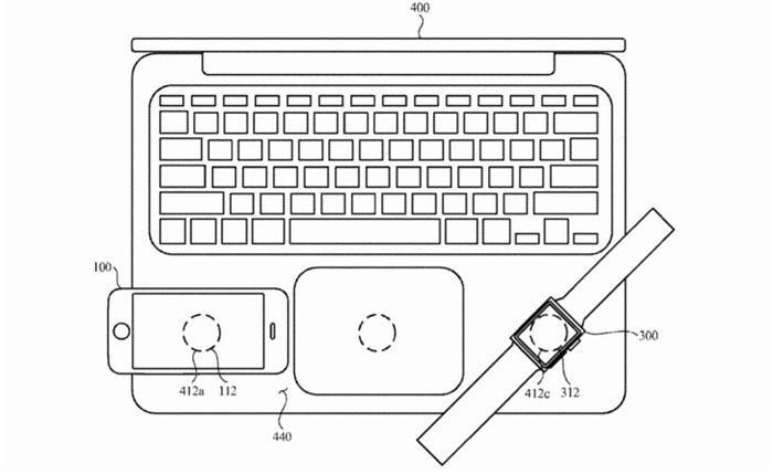 Two way wireless charging ipad